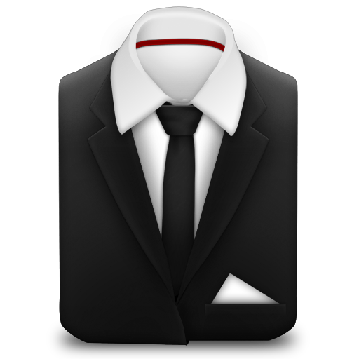 Manager-Suit-Black-Tie icon