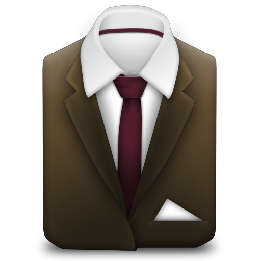 Manager-Suit-Brown icon