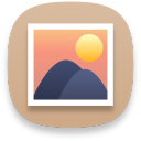 multimedia photo manager icon