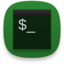 Terminal green icon