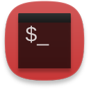 Terminal red icon