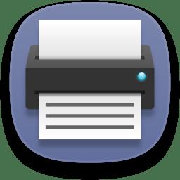 Dev printer icon
