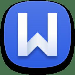 Kingsoft writer icon