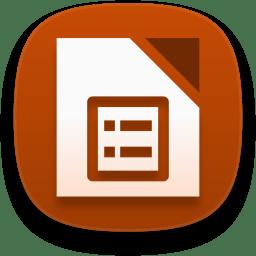Libreoffice impress icon