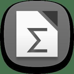 Libreoffice math icon