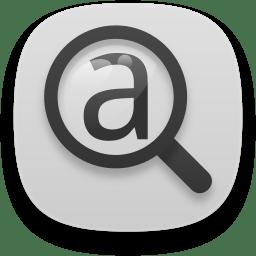 preferences desktop font icon