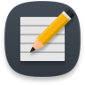 Accessories-text-editor icon