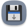Disk-save-as icon