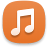 Music-orange icon