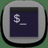 Terminal-black icon