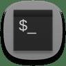 Terminal-gray icon