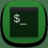 Terminal-green icon