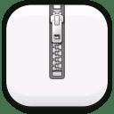 File-zipper icon