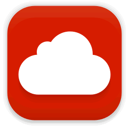 mega cloud icon