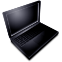 Mac Book Black Off icon