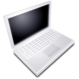 Mac Book White Off icon