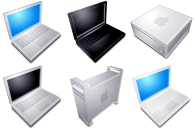 Blend Apple Hardware Icons