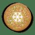 Christmas-cookie-round icon