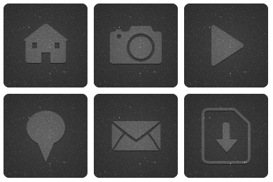 Dark Blog Icons