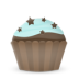http://icons.iconarchive.com/icons/brainleaf/free-cupcake/72/cupcake-cake-stars-icon.png