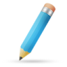 Pencil-blue icon