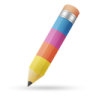 Pencil-color icon