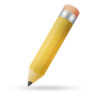 Pencil-yellow icon