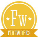 A fireworks icon