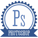 B photoshop icon