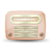 Vintage-radio-05-orange icon