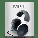 File Types MP 4 icon