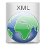 File Types XML icon
