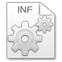 Mimetypes inf icon