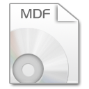 Mimetypes mdf icon