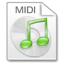 Mimetypes midi icon