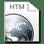 Mimetypes htm icon