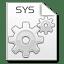 Mimetypes-sys icon