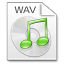 Mimetypes wav icon
