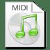Mimetypes-midi icon