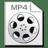 Mimetypes-mp-4 icon