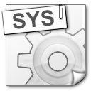 File Types sys icon