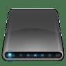 Drives-External-Drive-Black icon