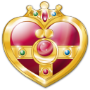 cosmic heart compact icon