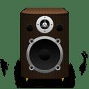 Speaker Dark Wood icon