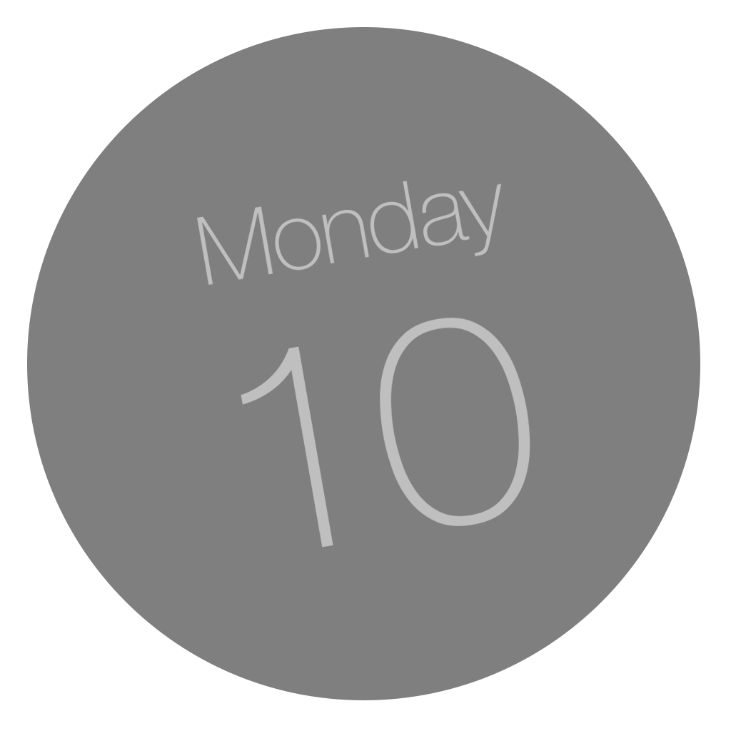 Calendar Icon Ios : Calendar app icon dynamic yosemite iconset ccard dev