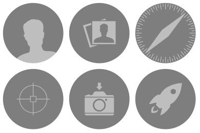 Dynamic Yosemite Icons