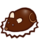Souris en chocolat icon