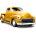 http://icons.iconarchive.com/icons/cemagraphics/classic-cars/72/yellow-pickup-icon.png