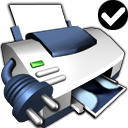 Printer Default Network icon