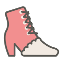 Ankle boot icon